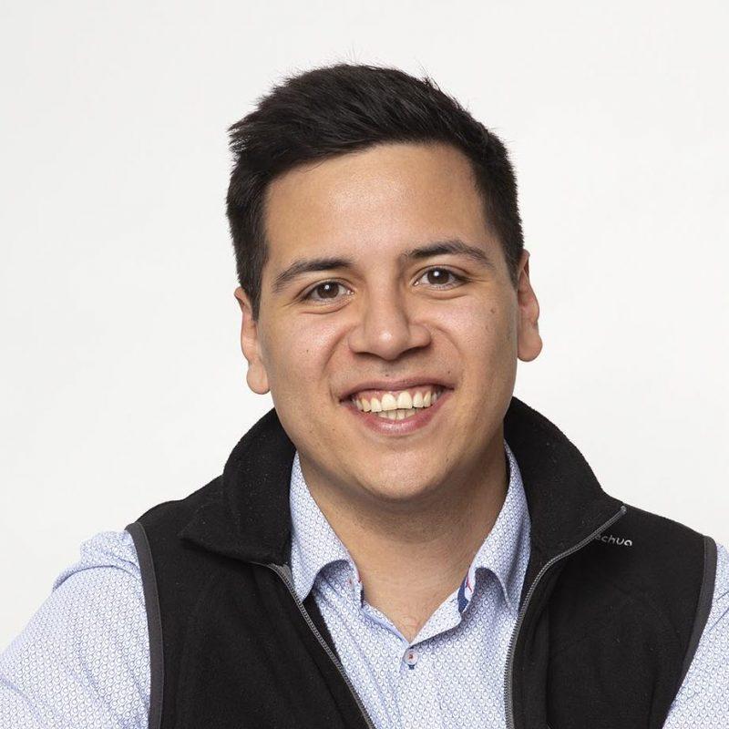 Portrait Pablo Viveros, MSc
